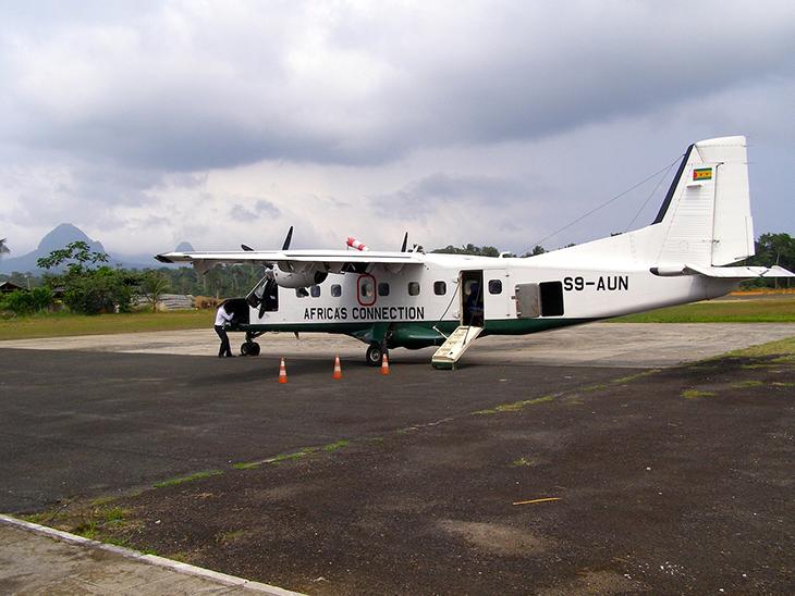 Avion en Afrique du Sud