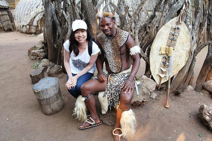 Langue zoulou en Afrique du Sud