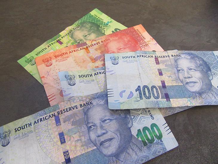 Le rand monnaie officielle de l'Afrique du Sud