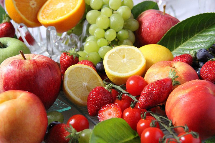Regime alimentaire : fruits