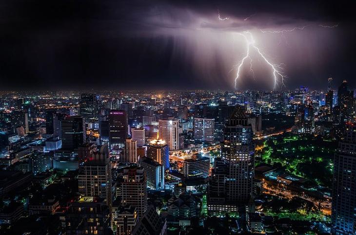 La saison des pluies en Afrique du Sud