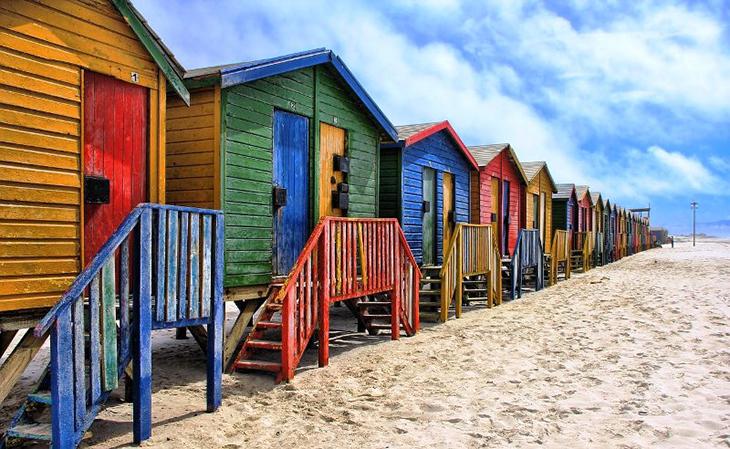 Les stations balneaires en Afrique du Sud